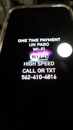 Super high speed. In great excellent condition like new Modem with Internet and Router for wifi open box in great condition Wi-fi for Sale in Los Angeles,  CA