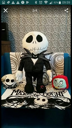 1 X The Nightmare Before Christmas Collectable Animated Jack Skellington. for Sale in Round Rock, TX