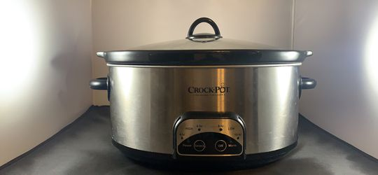 Slow Cooker Crock Pot Programmable 7 Quart for Sale in Alvarado,  TX