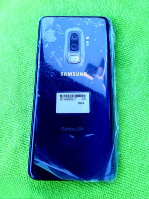 Samsung Galaxy S9 Plus + 64gb with 400gb memory slot .Globally Unlocked Liberado for ALL phone companies USA , Mexico, Overseas**NEW** for Sale in Cypress, CA