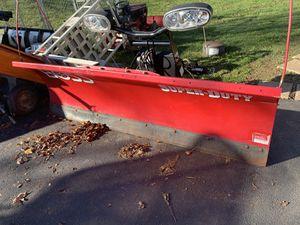 2019 boss super duty 8' plow! for Sale in Mohnton, PA