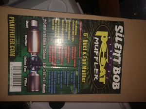 """Phat 6""""X 26"""" muffler silencer for fans for Sale in Salinas, CA"""
