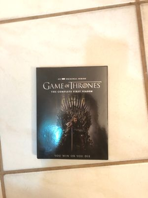 Game of thrones COMPLETE FIRST SEASON for Sale in Medley, FL