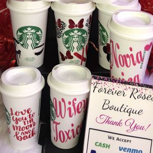 Starbucks Cup 16oz. Hot Cups $10 each. Available & Ready For Pick Up. 👇🏻 Please Read 👇🏻👇🏻 for Sale in South Gate, CA