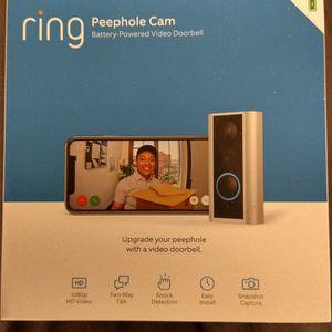 Brand New Ring Peephole Video Doorbell for Sale in Philadelphia, PA