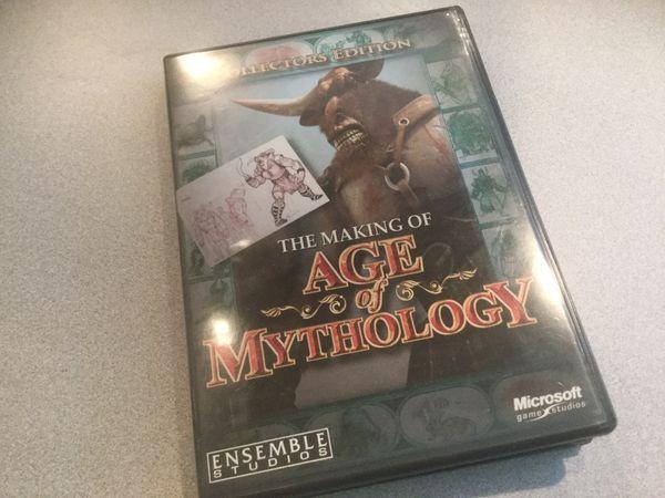 CD ROM Computer Game Age of Mythology