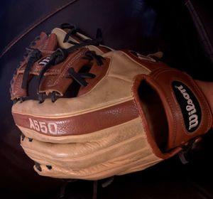 "Wilson A550 Baseball Glove size 11"" used for Sale in Los Angeles, CA"