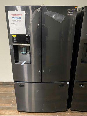 💥 New Samsung Black stainless steel French door refrigerator 🔴 for Sale in Phoenix, AZ