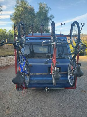 Trailer hitch with 8 bike rack. for Sale in Fallbrook, CA