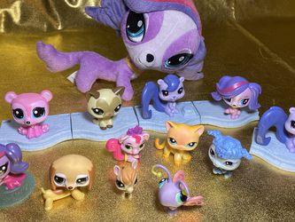 LPS Littles Pet Shop Toys And Plushie Plush Lot Bundle for Sale in San Antonio,  TX