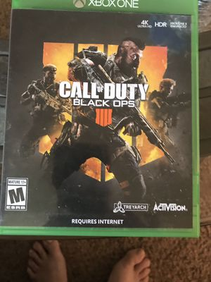 Black ops 4 Xbox one for Sale in Johnston City, IL