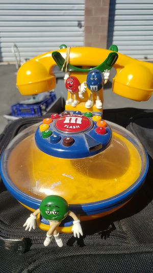 vintage m&m candy dish phone for Sale in Las Vegas, NV