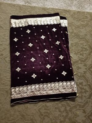 Velvet embroidery shawl full length for Sale in Baltimore, MD