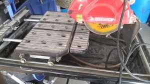 Husky tile saw for Sale in Boulder City, NV