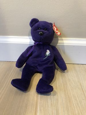 Princess Diana TY Beanie Baby, 1996: Near-Mint condition for Sale in Oceanside, NY
