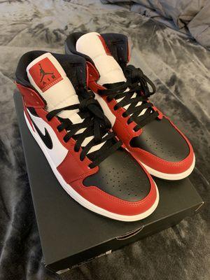 Air Jordan 1 Mid black toe BRAND NEW!! SALE TODAY for Sale in Greensboro, NC