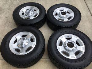 Super duty tires and rims for Sale in Montesano, WA