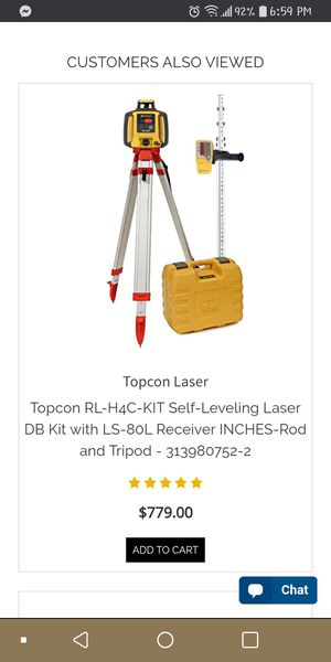 TopCon Self Leveling Laser for Sale in Chillicothe, OH