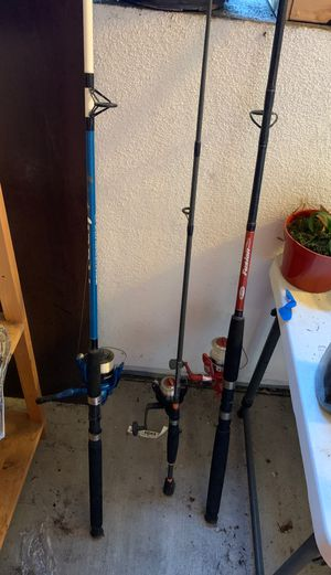 3 fishing rode for Sale in Los Angeles, CA