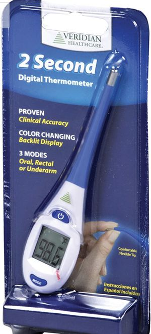 Veridian 08-363 2-Second Digital Thermometer for Sale in Hollywood, FL