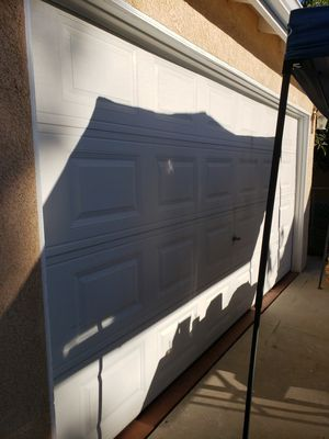 "Garage door ""uninstalled"" 13' 7"" by 7' for Sale in Lynwood, CA"