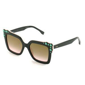 Fendi Women's Sunglasses FF0260/S 3H2/53 Black/Pink 52 19 145 Full Rim for Sale in Miami, FL