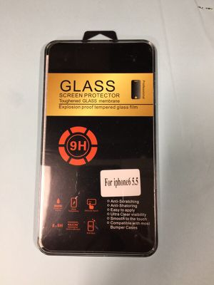 HD tempered glass screen protector iPhone 6 plus for Sale in New York, NY
