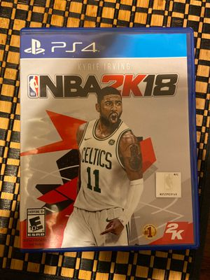 NBA 2k18 & Madden 18 for Sale in San Diego, CA