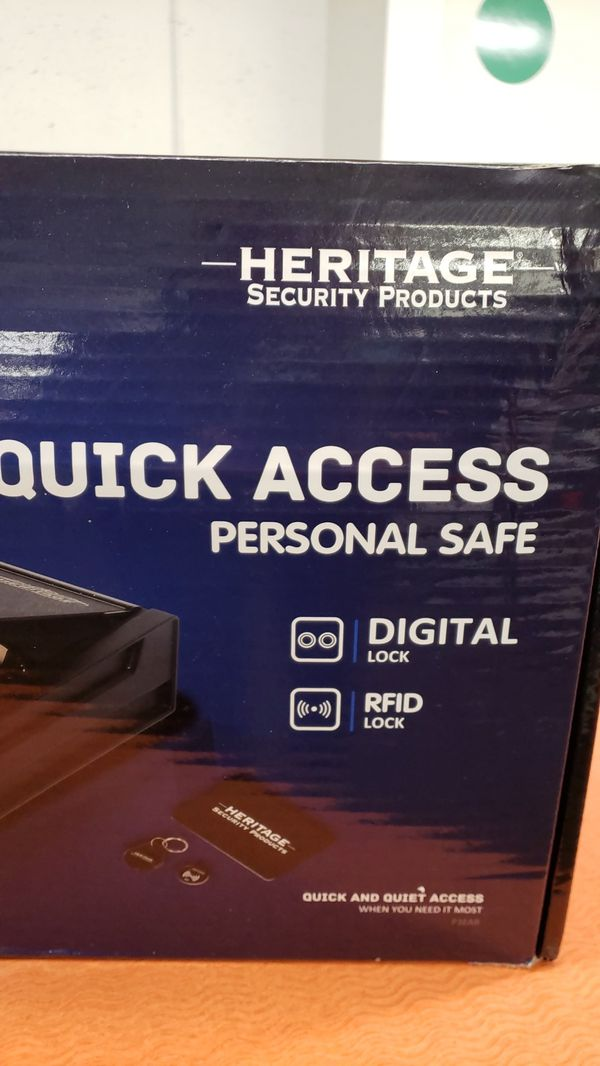 Heritage security products quick access personal safe for Sale in St   Louis, MO - OfferUp