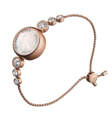 14169dbe5e38 Michael Kors Access Varick Rose Gold Tone Activity Tracker Ladies ...