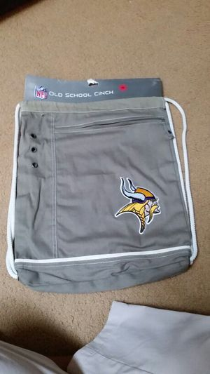 NFL MINNESOTA VIKINGS CINCH BACKPACK for Sale in Kapolei, HI