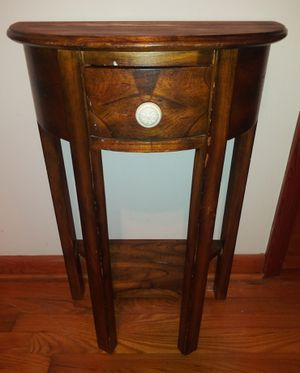 Wooden Occasional Table One Drawer for Sale in Pulaski, TN
