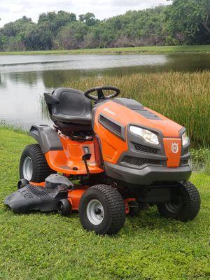 HusqvarnaYTH24K48 24 HP V-Twin Hydrostatic 48-in Riding Lawn Mower with Kohler Engine. Runs Great for Sale in Gibsonton, FL