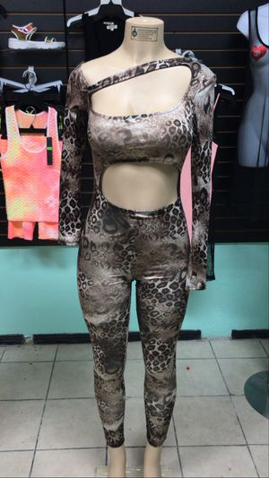 Cheetah Silk jumpsuit for Sale in Los Angeles, CA