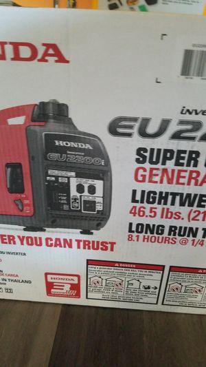 Generator eu2200i for Sale in Hayward, CA