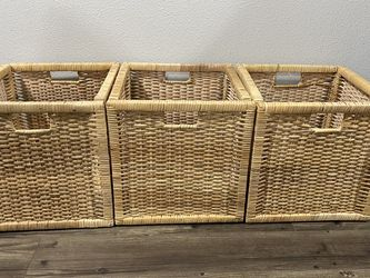 3 Storage Cube Baskets for Sale in Vancouver,  WA