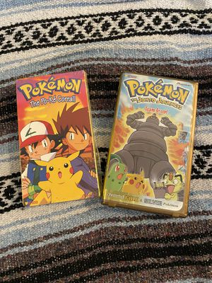 Pokémon vhs tapes for Sale in Dinuba, CA