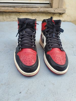 Nike Air Jordan 1 bred toe size 11 for Sale in Los Angeles, CA