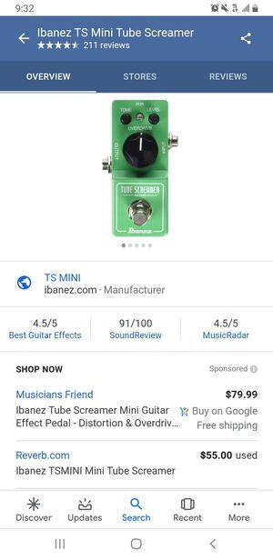 Mini Tube Screamer for Sale in El Cajon, CA