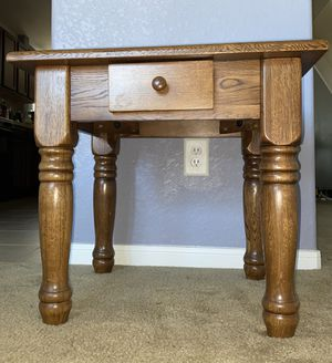 Solid wood side table for Sale in Cypress, TX