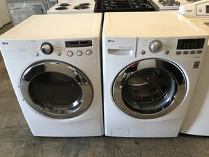 Lg Washer & Dryer Set (Electric) for Sale in Oxnard, CA
