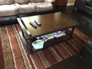 Wood coffee table set for Sale in Hawthorne, CA