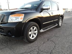 2011 Nissan Armada beautiful family suv low mileage ac cold 5000 obo plates up to date for Sale in Hesperia, CA