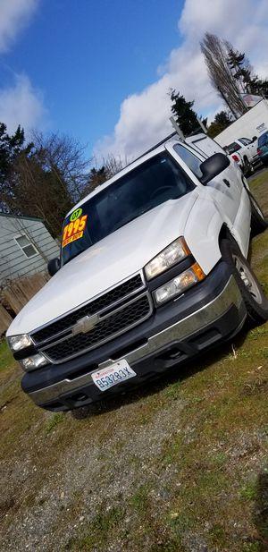 2007 Chevy Silverado ls for Sale in Seattle, WA