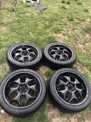 Rims and tires R20 for Sale in Langhorne, PA