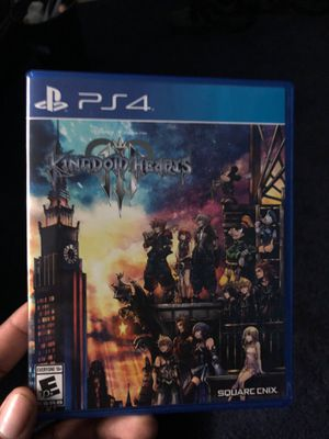 Kingdoms Heart 3 ps4 $35 for Sale in Las Vegas, NV