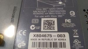 Xbox360 hard drive Microsoft for Sale in Albuquerque, NM