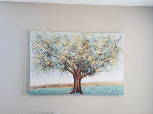 Painted tree painting for Sale in Camp Lejeune, NC