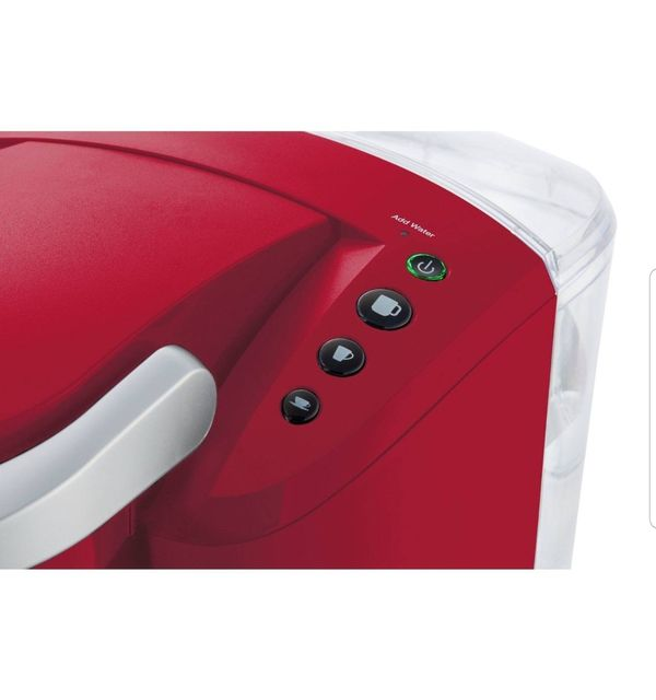 New Keurig K-Compact Single-Serve K-Cup Pod Coffee Maker, Imperial Red