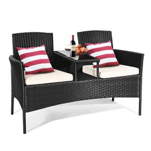 Outdoor Rattan Furniture Wicker Patio Conversation Chair for Sale in Los Angeles, CA